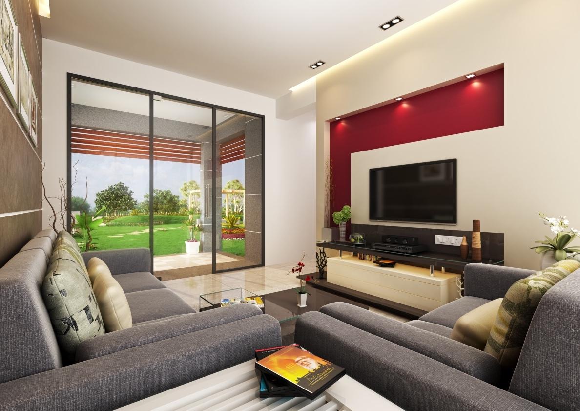 02 - 1BHK_Living room